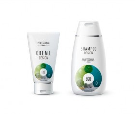 Shampoo and cosmetic brand design vector 06