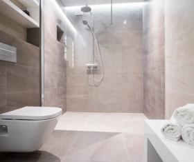 Small bathroom design Stock Photo 02