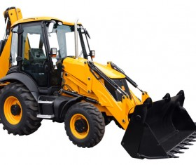 Small forklifts Stock Photo