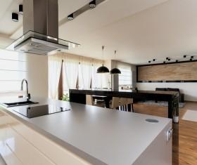Stock photo Modern kitchen design 06