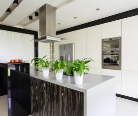 Stock photo Modern kitchen design 07