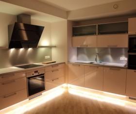 Stock photo Modern kitchen design 09