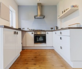 Stock photo Modern kitchen design 10