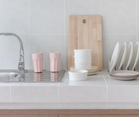 Stock photo Modern kitchen design 11