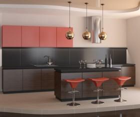 Stock photo Modern kitchen design 16