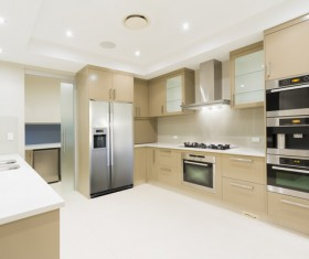 Stock photo Modern kitchen design 19