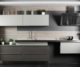Stock photo Modern kitchen design 23