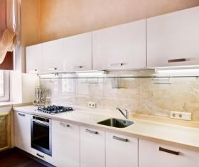Stock photo Modern kitchen design 24