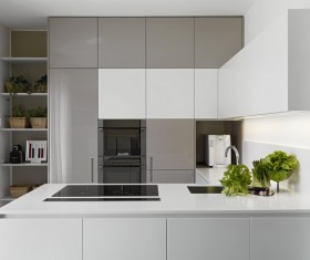 Stock photo Modern kitchen design 26