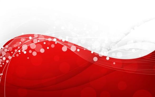 Stylish Abstract Red Background Vector Free Download