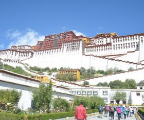 Tibet Potala Palace HD picture