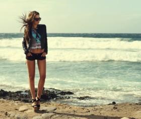 Trendy fashion woman HD picture
