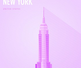 United States New York monuments vector 01