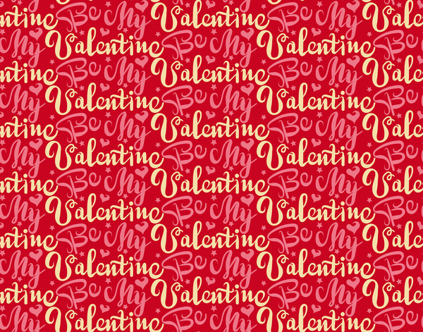 Valentine Gift Wrapping Paper Seamless Pattern Vector 03 Free Download