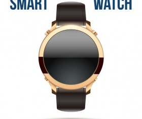 Vector smart watches template material 01