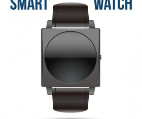 Vector smart watches template material 04
