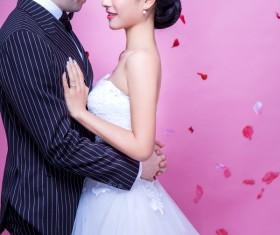 Wedding photographs of newlyweds Stock Photo 05