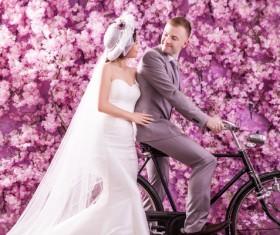 Wedding photographs of newlyweds Stock Photo 06