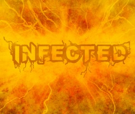 infected font