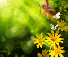 Abstract Floral Background HD picture 01