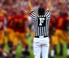 American football Stock Photo 03