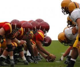 American football Stock Photo 07