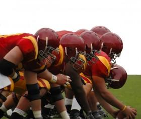 American football Stock Photo 08