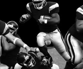 American football Stock Photo 10