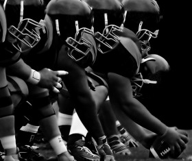 American football Stock Photo 11