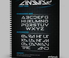 Amvar Styles Font