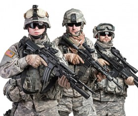 Armed soldiers Stock Photo 10