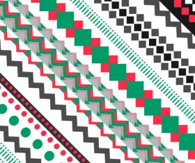 Beautiful ethnic ornament pattern vector 01