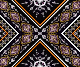 Beautiful ethnic ornament pattern vector 04