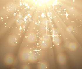 Beige background with shiny stars vector