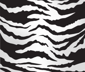 Black zebra pattern vector design 02