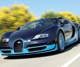 Blue Bugatti Veyron HD picture