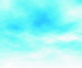 Blue sky and cloud blurs background vector