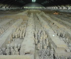China Terracotta Warriors Stock Photo