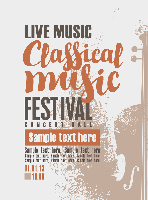 free concert poster templates