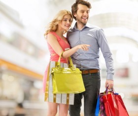 Couple shopping HD picture