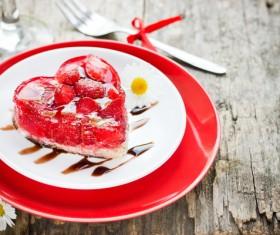 Delicate fruit desserts Stock Photo 09