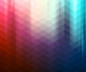 Diamond pattern with colored background vector