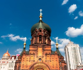 Different angles of shooting Sophia Cathedral HD picture 01