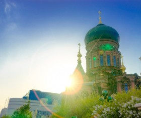 Different angles of shooting Sophia Cathedral HD picture 02