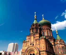 Different angles of shooting Sophia Cathedral HD picture 03