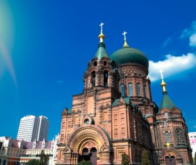 Different angles of shooting Sophia Cathedral HD picture 04