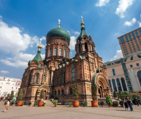 Different angles of shooting Sophia Cathedral HD picture 05