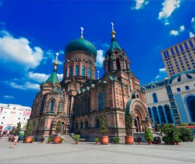 Different angles of shooting Sophia Cathedral HD picture 06