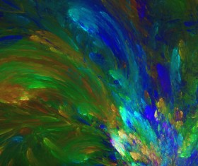Digital abstract painting Stock Photo 06
