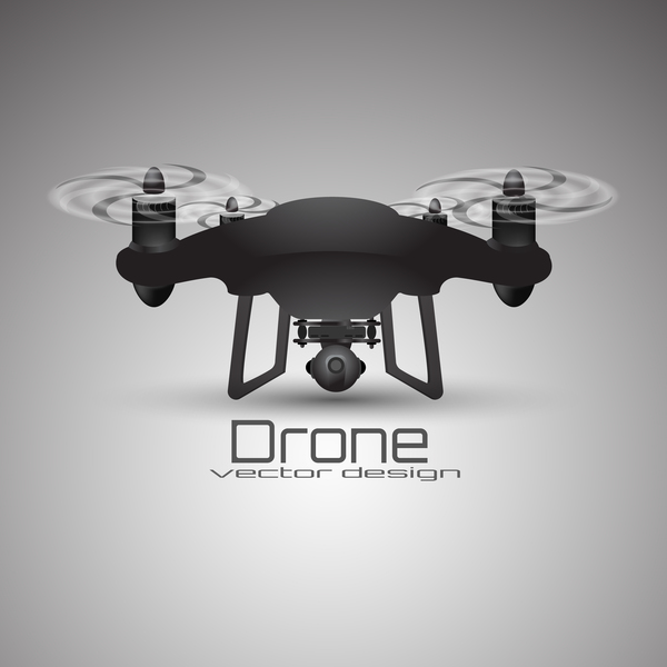 Drone poster design vectors 01
